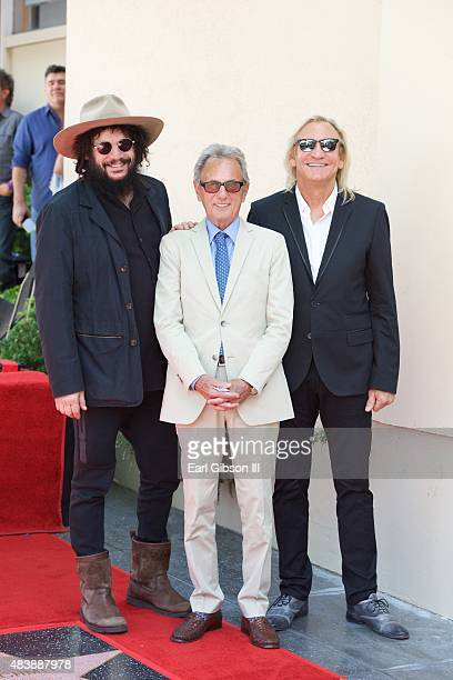 Music producer Don Was recording engineer Al Schmitt and recording artist Joe Walsh attend as Al Schmitt is honored with a Star On The Hollywood Walk...
