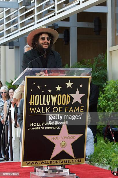 Music Producer Don Was speaks as Al Schmitt is honored with a Star On The Hollywood Walk Of Fame on August 13 2015 in Los Angeles United States