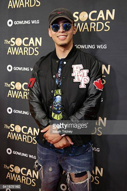 Music Producer Eestbound arrives at The 27th Annual SOCAN Awards Gala at the Sheraton Centre Hotel on June 20 2016 in Toronto Canada