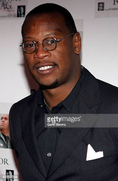 """Music producer host Andre Harrell arrives at the VIP performance of """"Medal Of Honor Rag"""" June 27, 2005 at the Egyptian Arena Theater in Hollywood,..."""