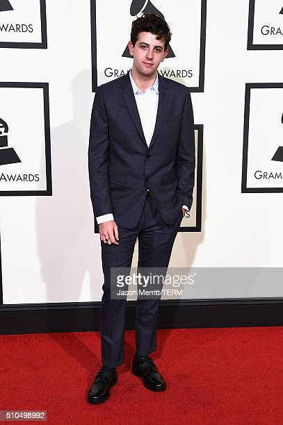 Music producer Jamie xx attends The 58th GRAMMY Awards at Staples Center on February 15 2016 in Los Angeles California