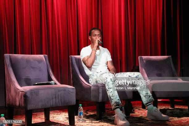 """Music Producer Kosine attends the Grammy Museum & Musicare """"Truth Serum"""" Screening and Panel Discussion at The GRAMMY Museum on June 23, 2021 in Los..."""