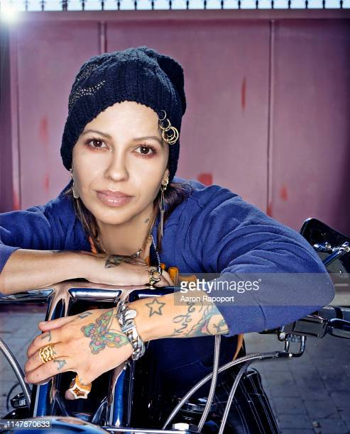 Music producer Linda Perry poses for a portrait in Los Angeles California