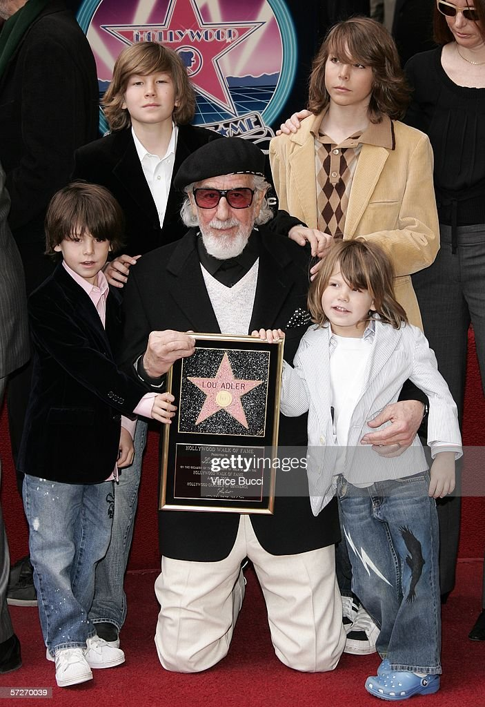 Lou Adler Receives A Star On The Walk Of Fame : News Photo