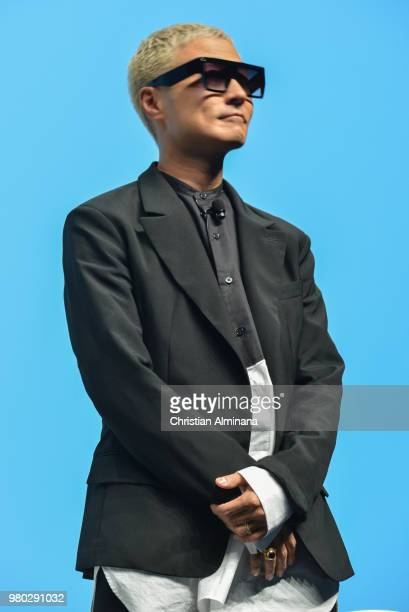 Music Producer MC DJ Creative Director Verbal attends the Cannes Lions Festival 2018 on June 21 2018 in Cannes France