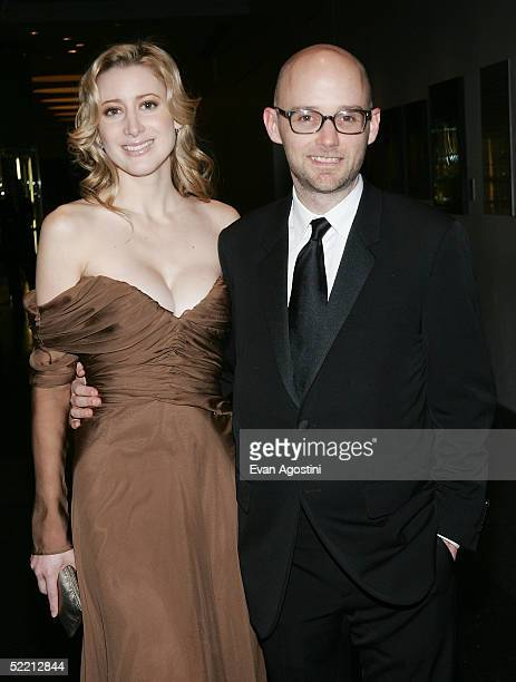 Music producer Moby and date Alexis Bryant attend The Musuem of Natural History's Winter Dance Benefit 'Celebrating Heavenly Bodies of the Universe'...