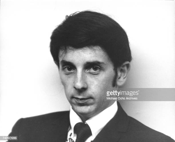 Music Producer Phil Spector poses during photo session in Los Angeles, California, circa 1965.