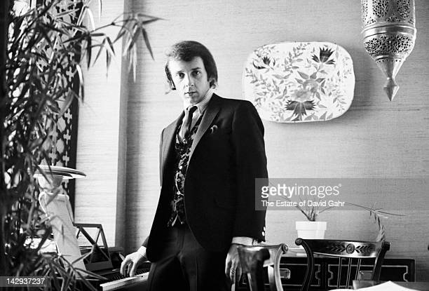 Music producer Phil Spector poses for a portrait in January 1965 in New York City, New York.