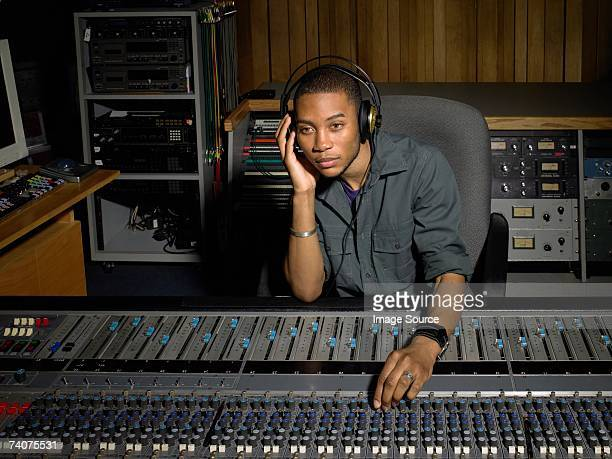music producer - producer stock pictures, royalty-free photos & images