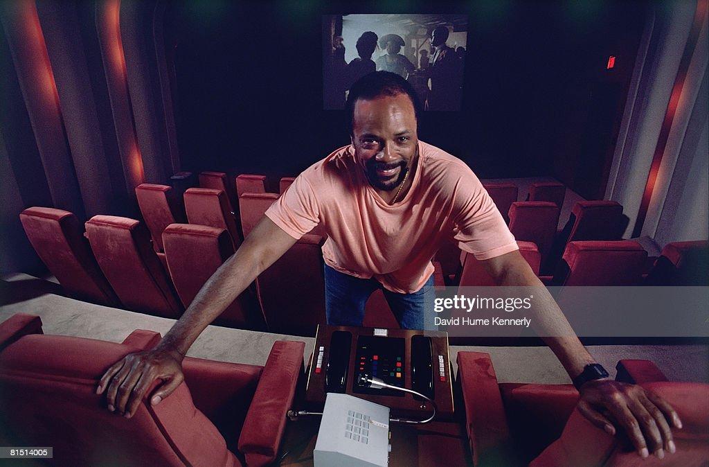 Quincy Jones at Dreamworks : News Photo