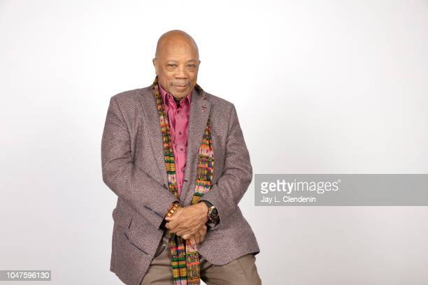 Music producer Quincy Jones from 'Quincy' is photographed for Los Angeles Times on September 8 2018 in Toronto Ontario PUBLISHED IMAGE CREDIT MUST...