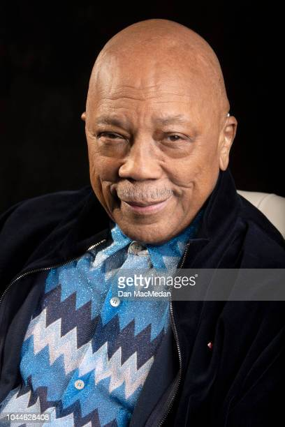 Music producer Quincy Jones IS photographed for USA Today on September 18 2018 in Los Angeles California