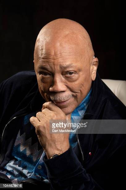 Music producer Quincy Jones IS photographed for USA Today on September 18 2018 in Los Angeles California PUBLISHED IMAGE