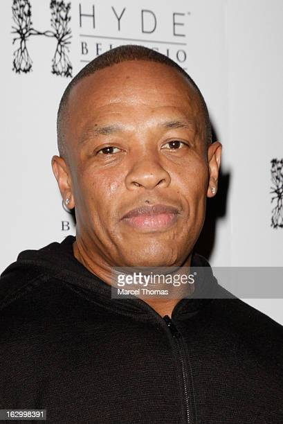 Music producer/ Rapper Dr Dre attends the launch party for Bonita Platinum Tequila at Hyde Bellagio at the Bellagio on March 2, 2013 in Las Vegas,...