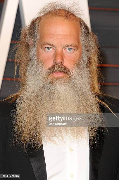 Music producer Rick Rubin attends the 2015 Vanity Fair Oscar Party hosted by Graydon Carter at Wallis Annenberg Center for the Performing Arts on...
