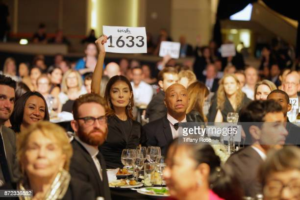 Music producer Russell Simmons at the 2017 Make a Wish Gala on November 9 2017 in Los Angeles California