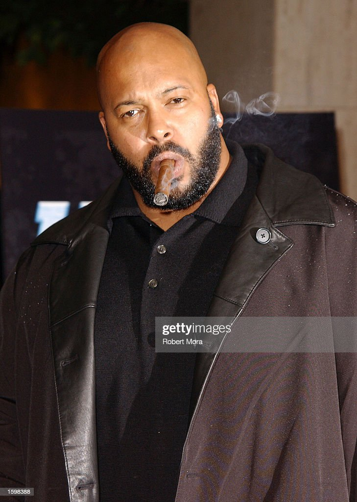 Suge Knight At Los Angeles Premiere Of Half Past Dead : News Photo
