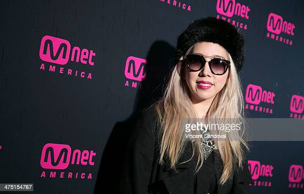 Music producer Tokimonsta attends Mnet America's Alpha Girls series premiere launch party at Greystone Manor Supperclub on February 26 2014 in West...