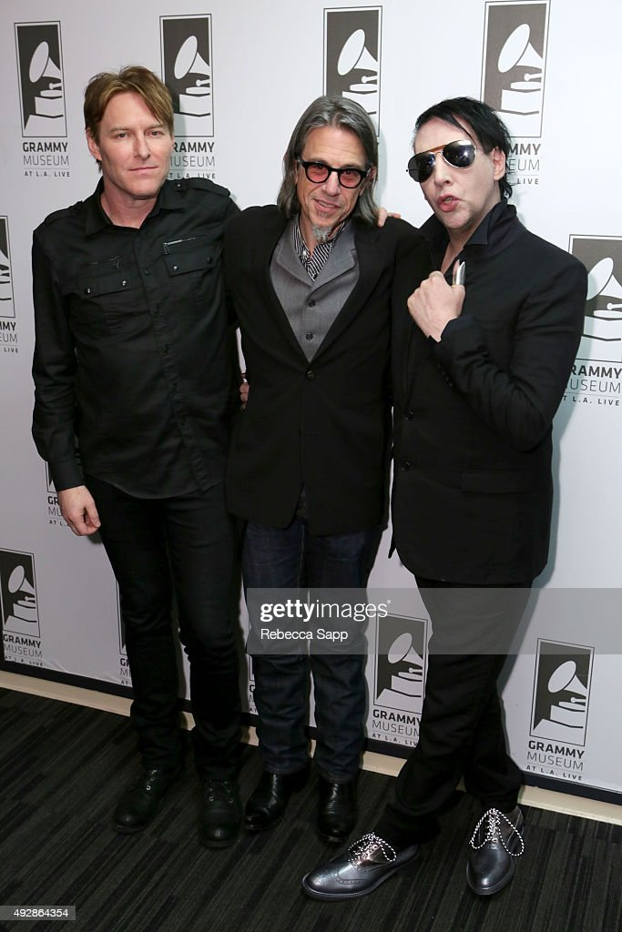 An Evening With Marilyn Manson And Tyler Bates : News Photo