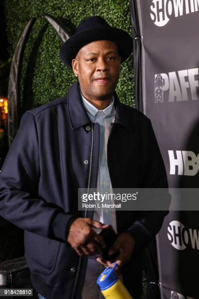 Music Producer Vincent Herbert attends the Pan African Film Festival red carpet and screening of Marvel Studios Black Panther at Cinemark Baldwin...