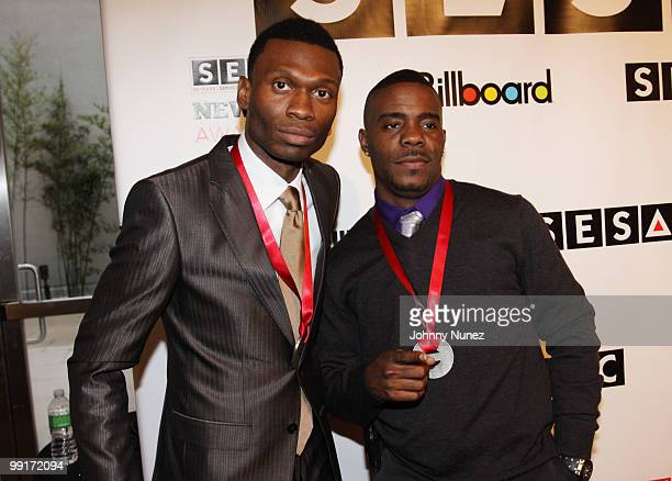 Music producers Jay Fenix and Adonis Shropshire attend the 2010 SESAC New York Music Awards at the IAC Building on May 12 2010 in New York City