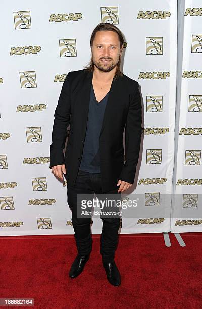 Music producer/songwriter Max Martin arrives at the 30th Annual ASCAP Pop Music Awards at Loews Hollywood Hotel on April 17 2013 in Hollywood...