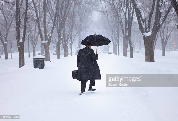 Music professor Rictor Noren refuses to dress down no matter the New England weather He says he dresses well out of respect for the music