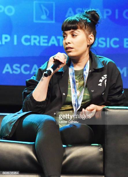 Music Publisher Jennifer Goicoechea speaks onstage at 'Building Your Team' during the 2017 ASCAP I Create Music EXPO on April 14 2017 in Los Angeles...