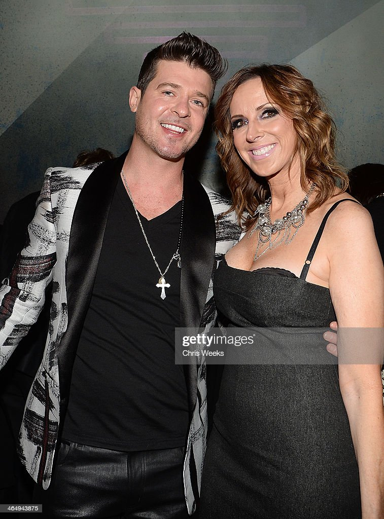 Los Angeles Confidential Magazine, CBS Radio And The Grammy Museum At L.A. LIVE Celebrate The Grammys With 2014 Three-Time Nominee Robin Thicke