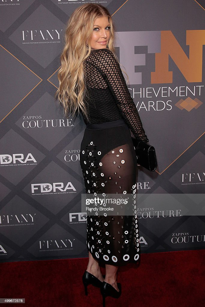 Music Recording Artist, Singer and Designer Fergie attends the 29th FN Achievement Awards at IAC Headquarters on December 2, 2015 in New York City.