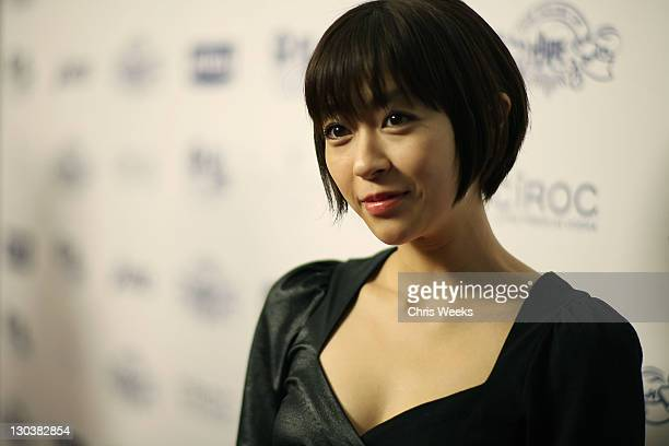 Music recording artist Utada attends House Of Hype Hosted By Antonio L.A. Reid Sponsored by Nivea at Wolfgang's Steakhouse on February 8, 2009 in...