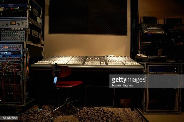 music recording studio - recording studio stock pictures, royalty-free photos & images