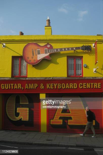 music shop brighton - stevebphotography stock pictures, royalty-free photos & images
