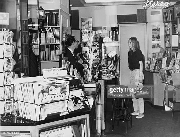 Music Shop In Paris On May 5Th 1969