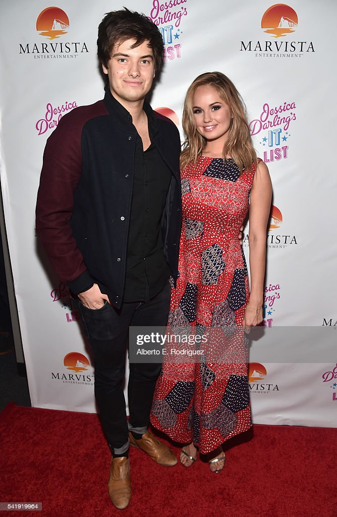 Music supervisor Chase Ryan and producer Debby Ryan attends