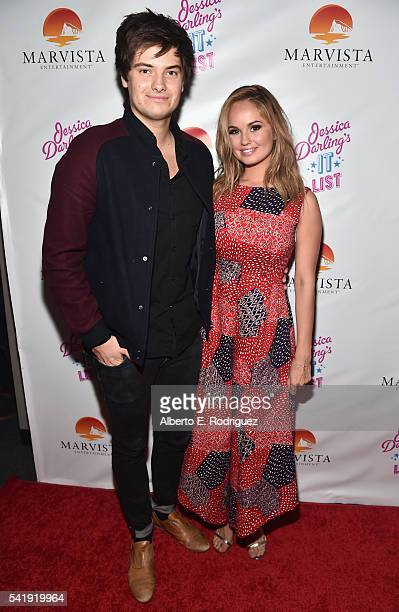 Music supervisor Chase Ryan and producer Debby Ryan attends the premiere of Marvista Entertainment's 'Jessica Darling's It List' at the Landmark...