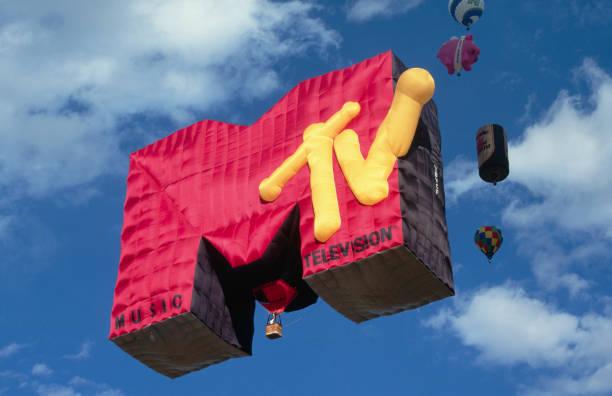 Music Television Hot Air Balloon