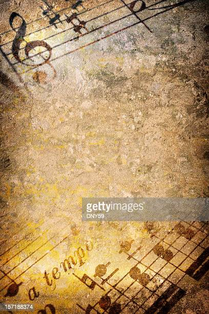 music texture - musical note stock photos and pictures
