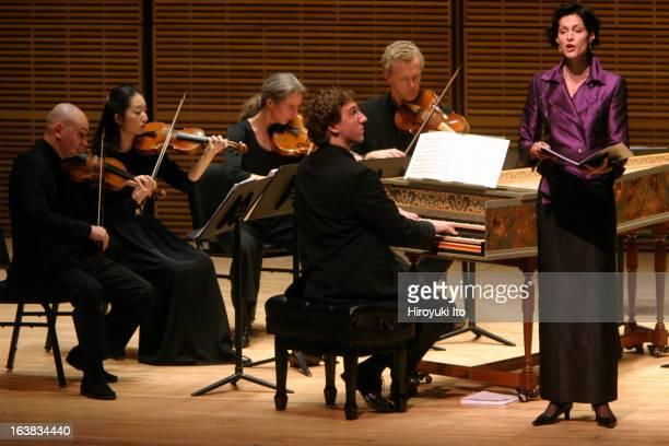 Musica Antiqua Koln performing at Zankel Hall on Thursday night November 2 2006This imageIlia Korol on violin far left leading Musica Antiqua Koln...