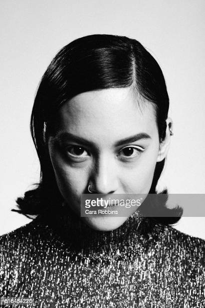 Musical act Japanese Breakfast aka Michelle Zauner is photographed for Interview Magazine on June 15 2017 in Los Angeles California