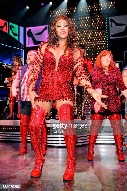 Musical actor Billy Porter during the 'Kinky Boots' Musical Premiere at Stage Operettenhaus on December 3 2017 in Hamburg Germany