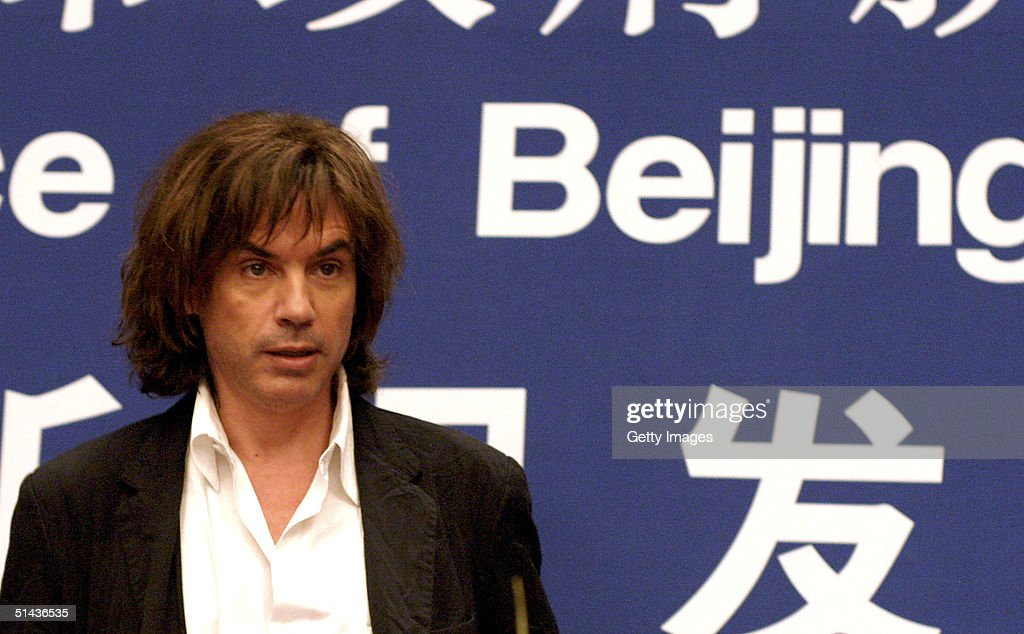 Jean - Michel Jarre Concert In Beijing - Press Conference : News Photo