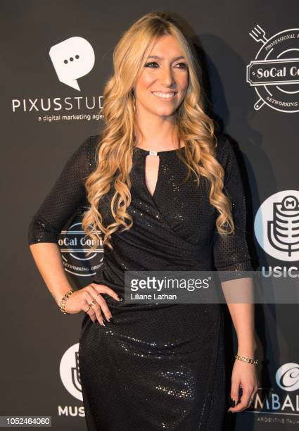 Musical Artist Alexa Lace attends the Official MUSICA$H Launch Party at Avalon on October 17 2018 in Hollywood California