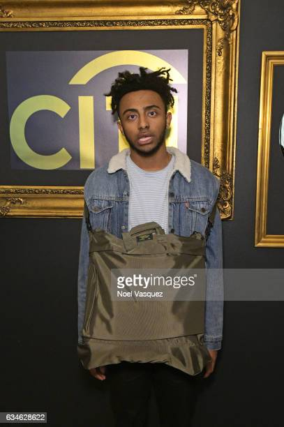 Musical artist Amine attends Music is Universal Lounge presented by Variety and Citi at Ace Hotel on February 10 2017 in Los Angeles California