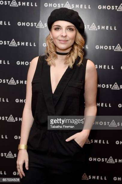 Musical artist BB Diamond attends the Ghost in The Shell London Gala Screening on March 23 2017 in London United Kingdom