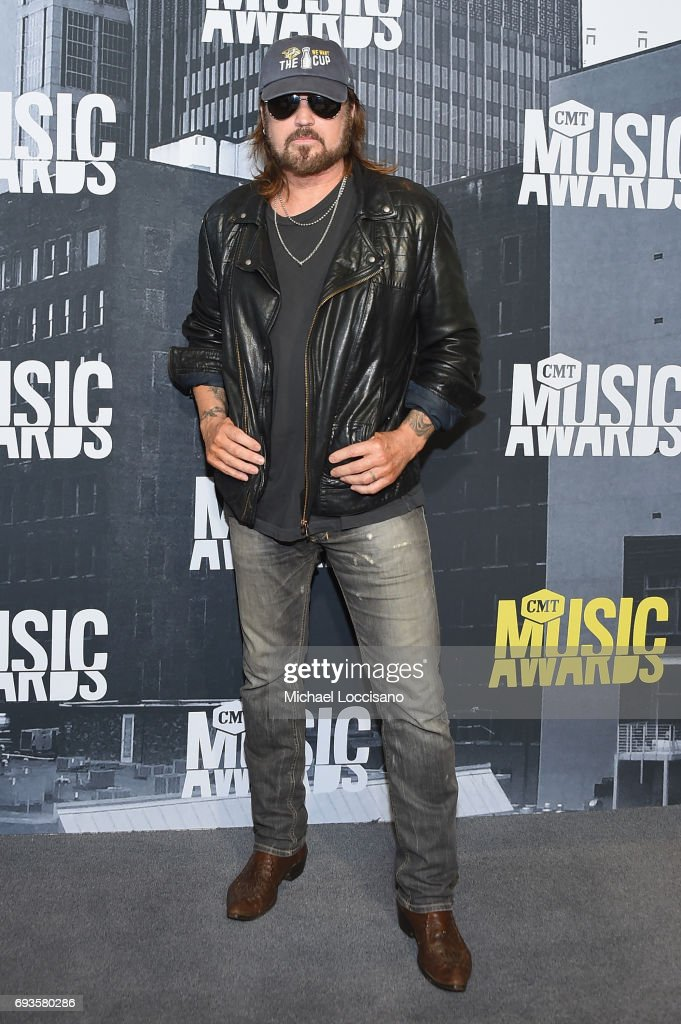 Musical artist Billy Ray Cyrus attends the 2017 CMT Music Awards at the Music City Center on June 7, 2017 in Nashville, Tennessee.