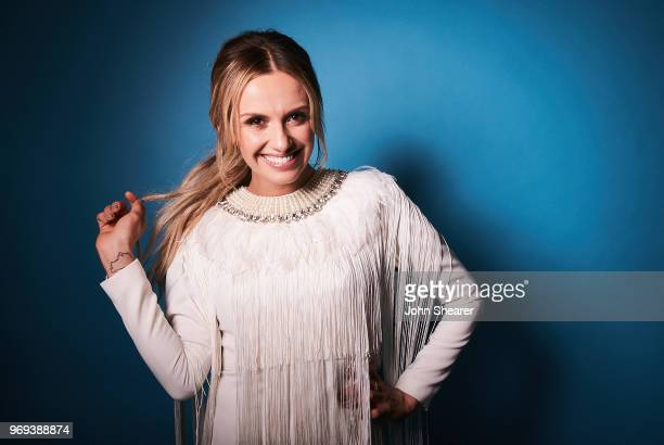 Musical artist Carly Pearce poses in the portrait studio at the 2018 CMA Music Festival at Nissan Stadium on June 7 2018 in Nashville Tennessee