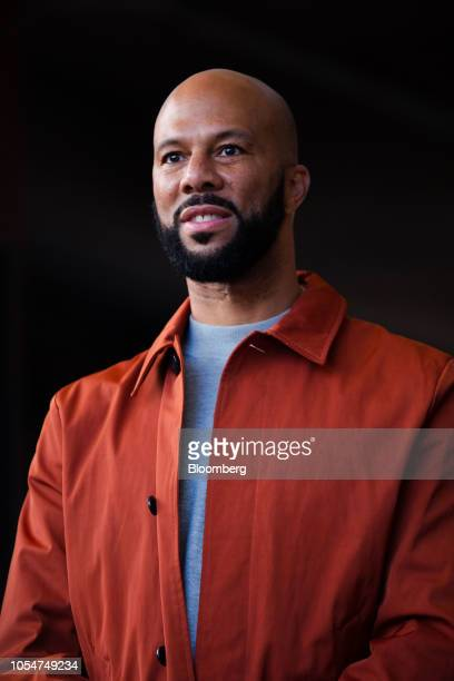 Musical artist Common attends a rally for Stacey Abrams Democratic nominee for governor of Georgia center ahead of the Souls to the Polls march in...