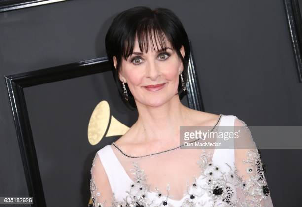 Musical artist Enya arrives at The 59th GRAMMY Awards at Staples Center on February 12 2017 in Los Angeles California