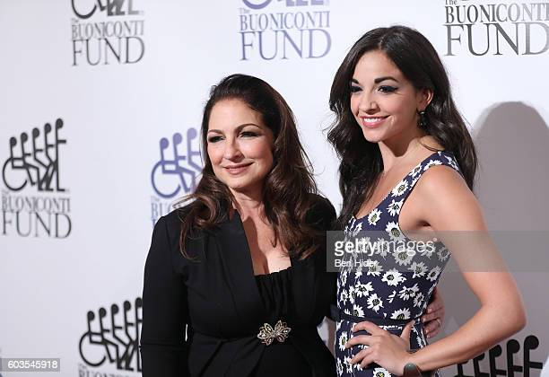 Musical artist Gloria Estefan and actress Ana Villafane attend the 31th Annual Great Sports Legends Dinner to benefit The Buoniconti Fund to Cure...